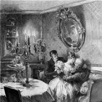 Čiča Goriot - naslovnica engleskog izdanja iz 1897. godine
